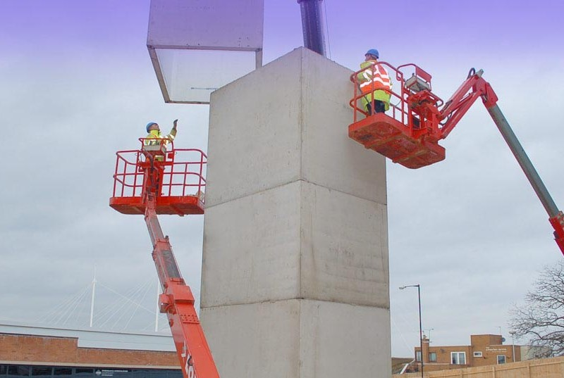 Precast hybrid construction is a speciality of PCE