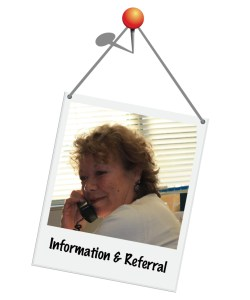 Call for east information and referral services!