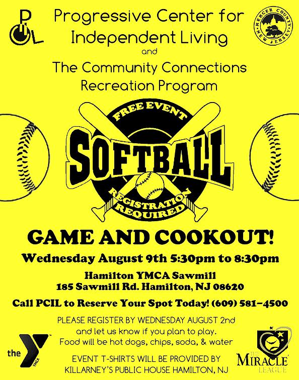 PCIL softball flyer Facebook JPG