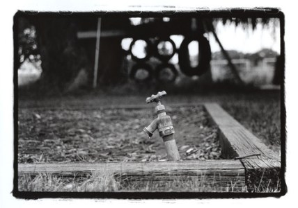 Waiting for Laughter, 2009 Gelatin Silver Print © Lacey Kwak-Simon