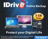 iDrive Data Backup
