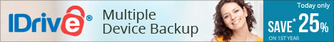 iDrive Offsite Backup