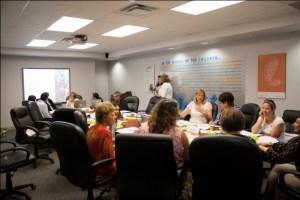 The Success by 6 Peel  Committee met at Peel CAS June 25, 2014