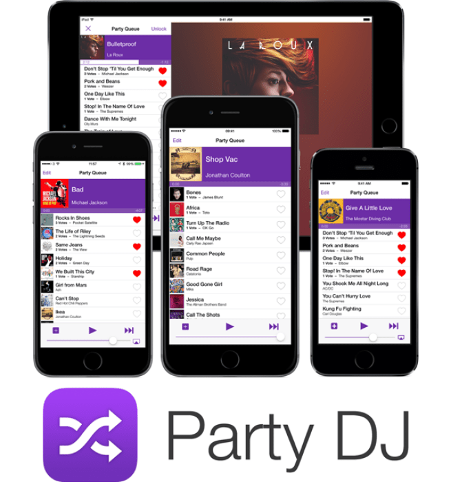 Party DJ lets you and your friends vote to queue up music (Free from today)