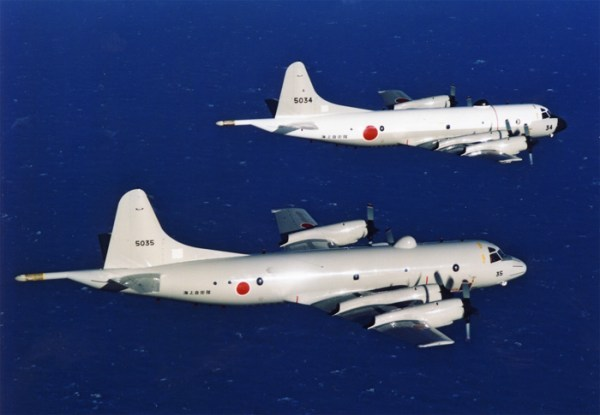 Lockheed P3-C patrol aircraft