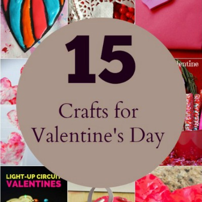 15 Crafts for Valentine's Day