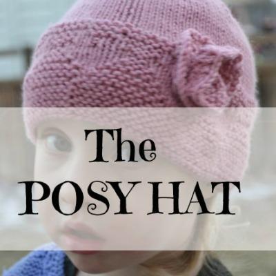 The Posy Hat (a knitting pattern)