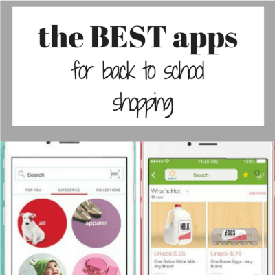 The Best Apps for Back to School Shopping