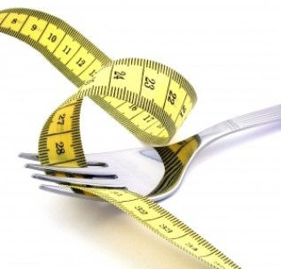 Fork measuring tape