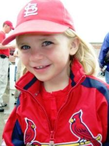 At 4-years old, in her true Tom boy form!