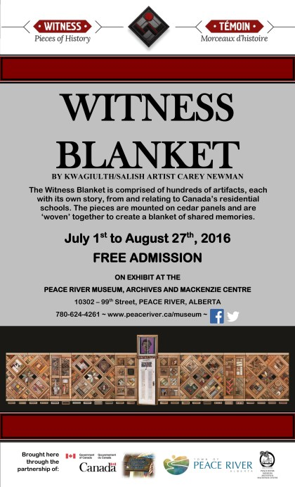 Witness Blanket Poster 1
