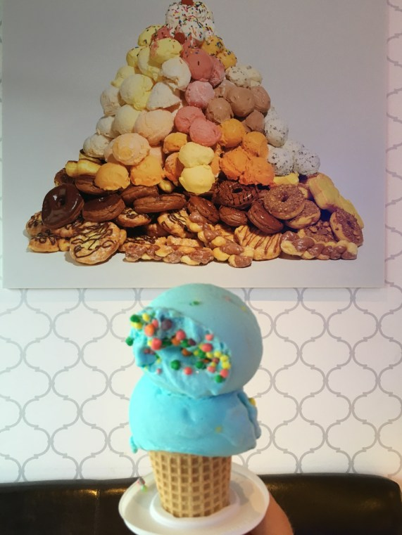 Blue Ice Cream 1