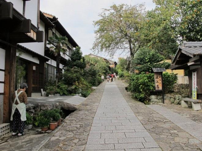 Rua principal de Magome