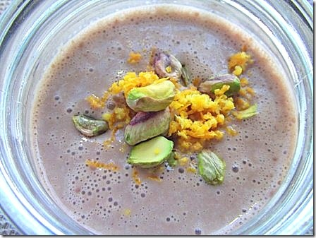 Chocolate Orange and Pistachio Smoothie (6)