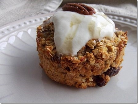 Pumpkin and Pecan Baked Oats (4)