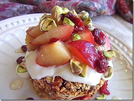 Baked Plum Oats with Pistachios (20)