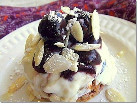 Cherry Bakewell Baked Oats (6)