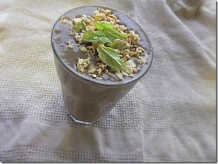 Chocolate and Mint Green Monster Smoothie (11)
