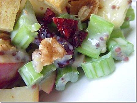 Vegan Tofu Waldorf Salad (46)