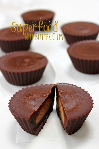 Superfood nut butter cups