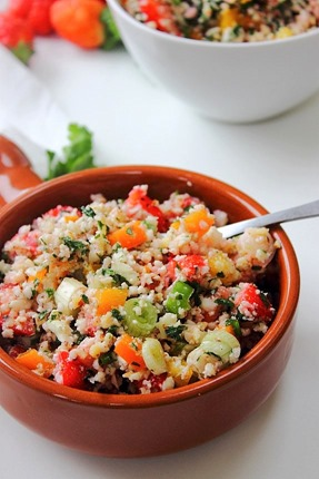 Summer Strawberry Grain Free Tabbouleh (18)