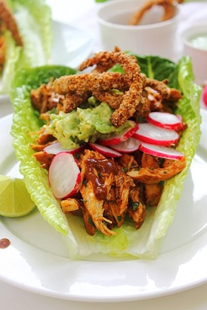 Chipotle Shredded Chicken Lettuce Tacos (33)