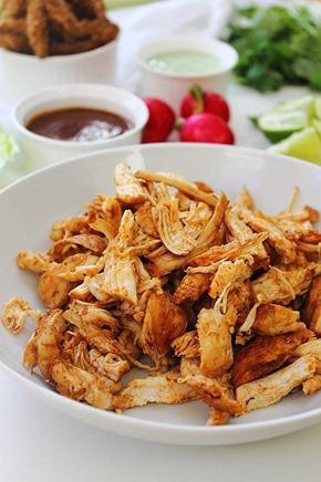 Chipotle Shredded Chicken Lettuce Tacos (5)
