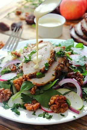 Cold Pork Roast Waldorf Salad (32)