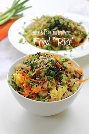 Paleo Egg & Pork Fried Rice (29) Title