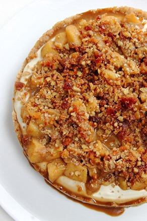 Caramel Apple Paleo Cheesecake (18)
