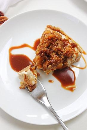 Caramel Apple Paleo Cheesecake (39)