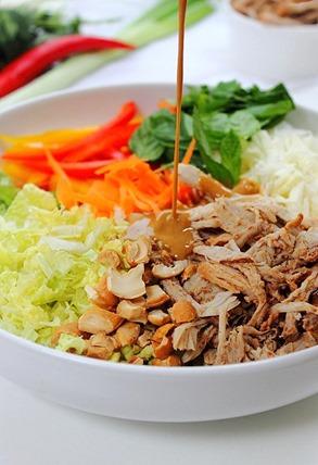 Vietnamese Pulled Pork Salad (6)