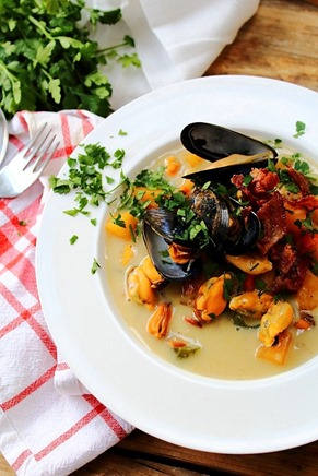 Mussel Pancetta Chowder (13)