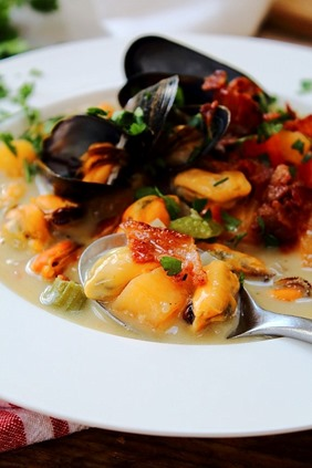 Mussel Pancetta Chowder (25)