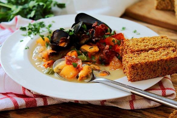 Mussel Pancetta Chowder (2)