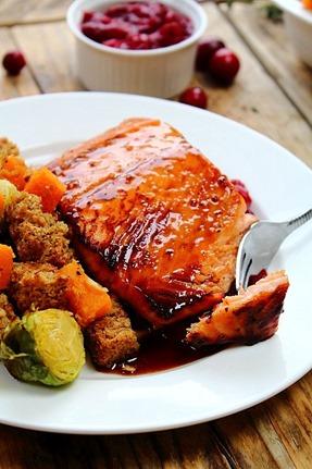 Maple Bourbon Salmon (24)
