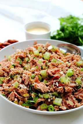 Tuna Almond Salad Paleo (16)