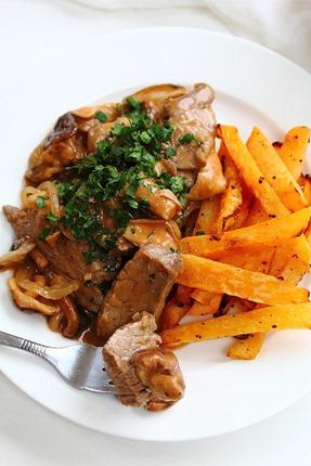 Beef and Mushroom Stroganoff (20)