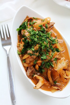Beef and Mushroom Stroganoff (9)