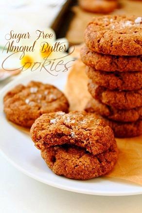 Almond Butter Stevia Cookies (25) title