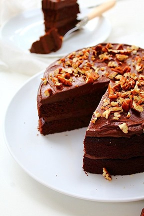 Double Chocolate Fudge Cake (45)