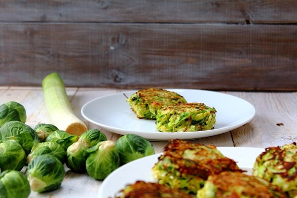 Brussel and Leek Fritters (5)