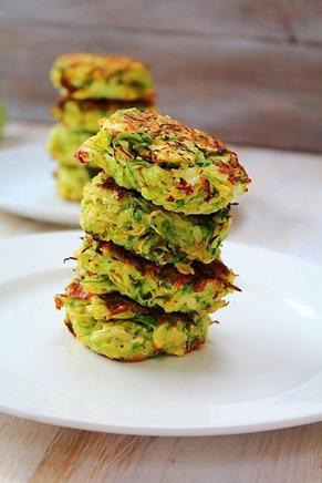 Brussel and Leek Fritters (7)
