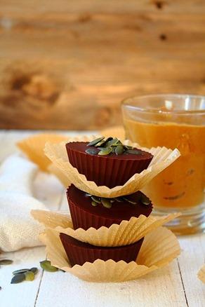Pumpkin Sunbutter Cups (2)