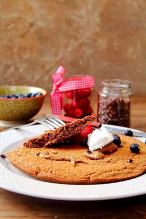Jumbo Chocolate Protein Pancake (18)