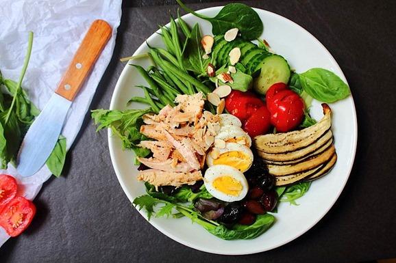 Tuna Salad Cauliflower Bread (9)