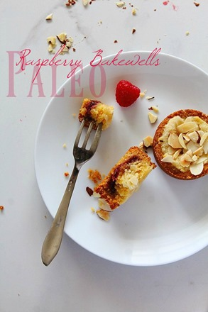 Raspberry Bakewell Tarts (9) title
