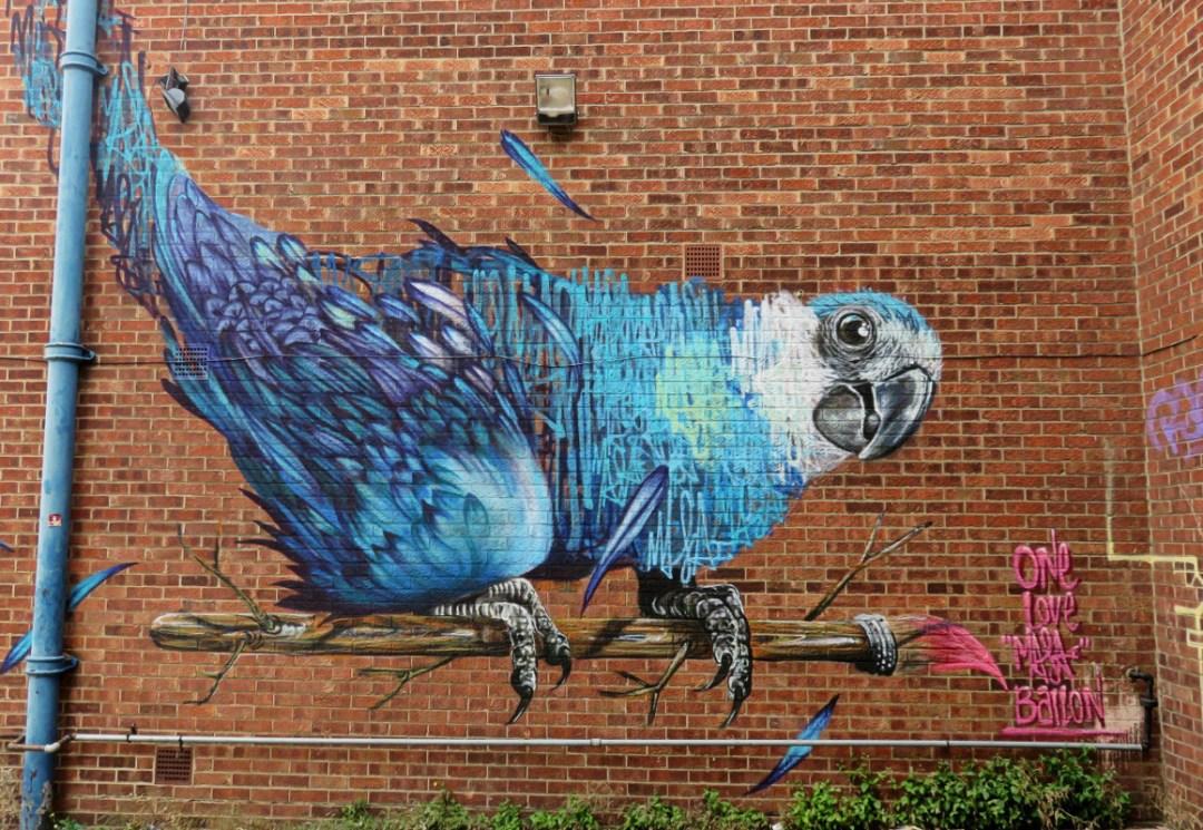 Street Art Hackney London UK by Olivier Schopfer