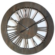 100 cm Skeleton Wall Clock - perfect Statement piece of art. Home Decor.