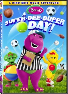 Barney A Super-Dee-Duper-Day DVD
